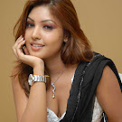 Komal Jha in Saree Photo Gallery