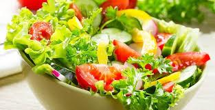 جدول السعرات الحراريه للخضروات