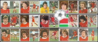 FKS stickers Liverpool 1976/77