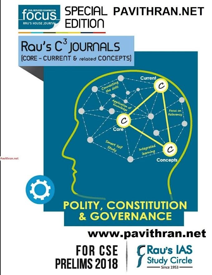 Rau's IAS Focus Polity,Constitution & Governance Book PDF Download