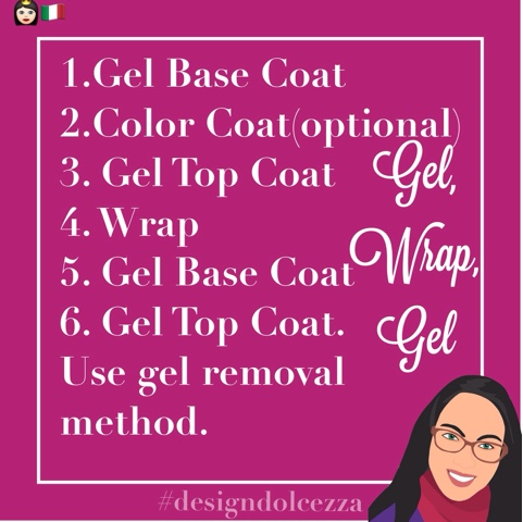 How to use gel over Jamberry wraps