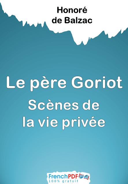 Livre   Le p  re Goriot   Honor   de Balzac