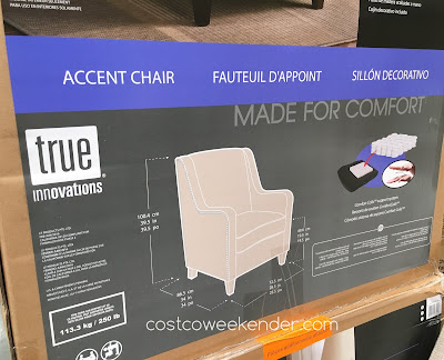Sit in comfort on the True Innovations Accent Chair