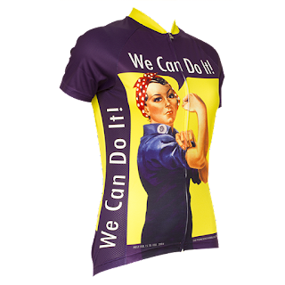 Rosie the Riveter Cycling Jersey