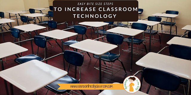 Bite Size Steps to Increase Classroom Technology