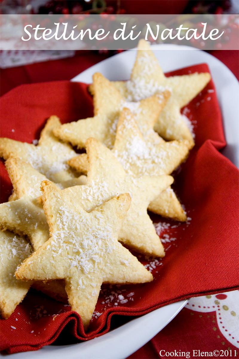 Biscotti Di Natale 1 Uovo.Stelline Di Natale Al Cocco Scelte Di Gusto