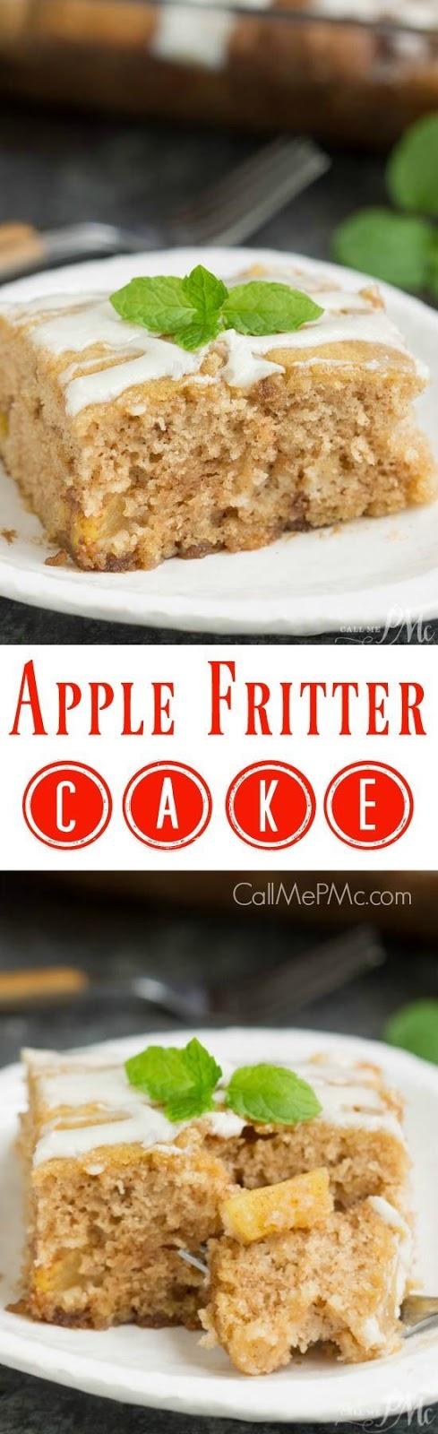 Apple Fritte Cake