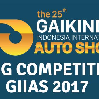 Blog Competition MTF & GIIAS 2017