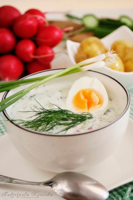 jak zrobić chłodnik?, obiady na lato, zupa na upał, daylicooking