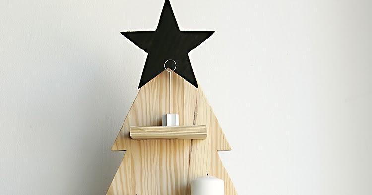 Alquimia deco diy arbol de navidad de madera - Alquimia deco ...