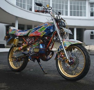 sparepart modifikasi Yamaha RX King