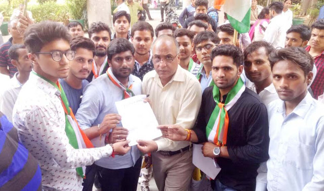 yuva-agaj-santhan-agitation-for-student-union-election-in-haryana