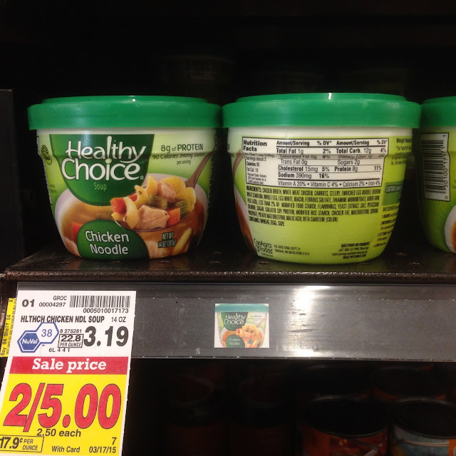 Chicken Noodle, Healthy Choice - Kroger