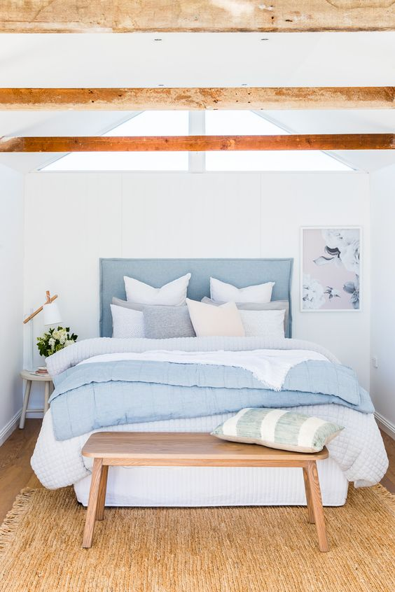 Soft Bedroom Designs amongst Pastel as well as White xxx Interior Design Ideas With Pastel And White Colors
