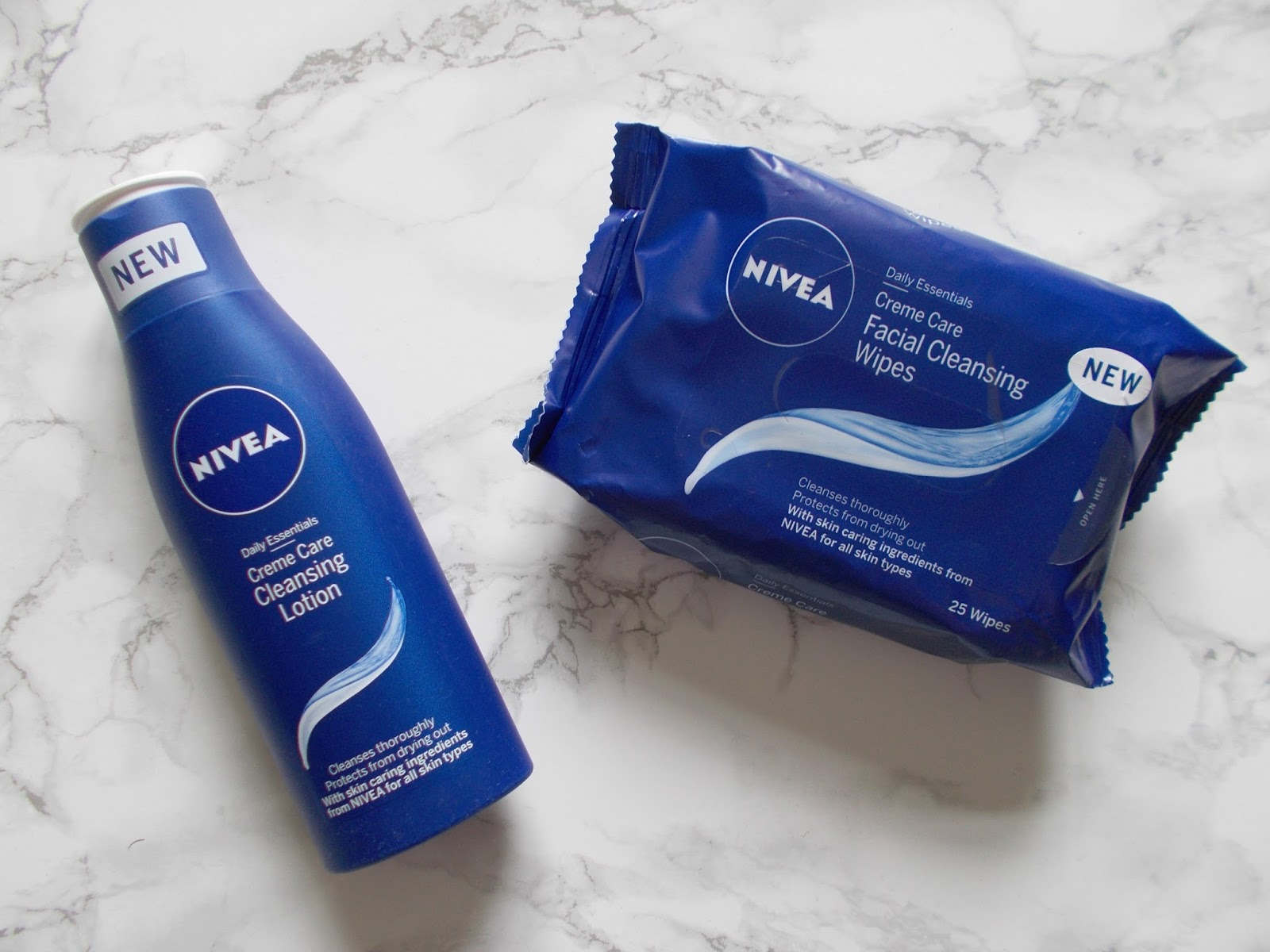 nivea daily essentials cleansing wipes facial cleansing lotion review