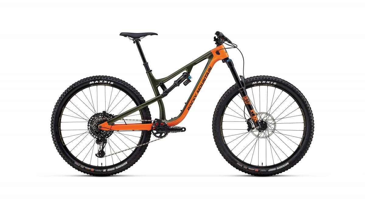 New Instinct and Instinct BC Edition Full Suspension Bike