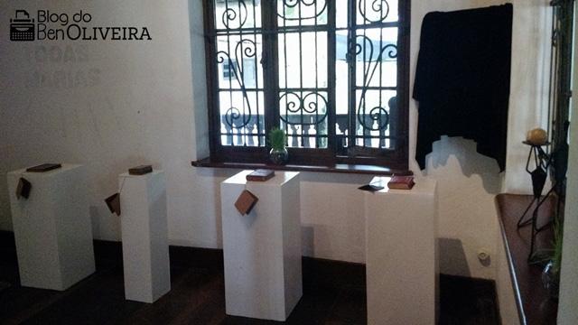 Exposição Livros Raros Blumenau Santa Catarina