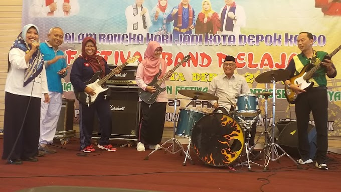 Walikota Buka Festival Band Tingkat Pelajar