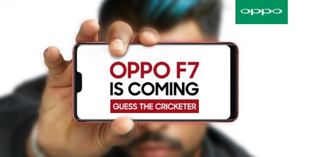 OPPO F7 is Coming - Guess The Cricketer