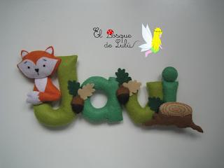 nombre-fieltro-Javi-decoración-infantil-elbosquedelulu-hechoamanoparati-regalo-nacimiento-personalizado