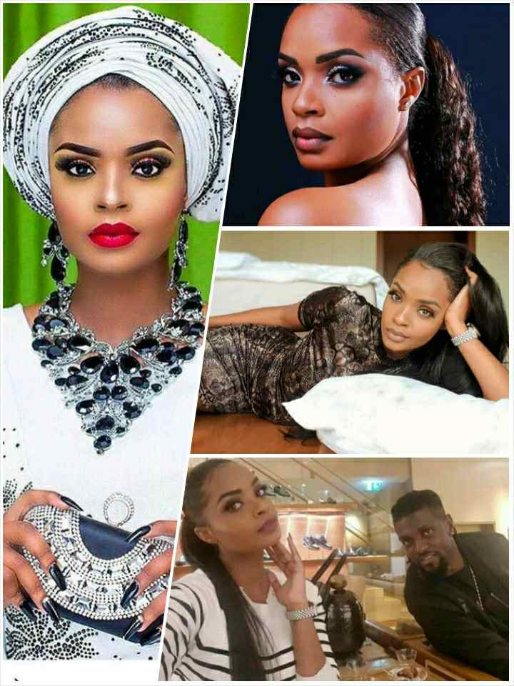 Dillish Matthews and Emmanuel Adebayor