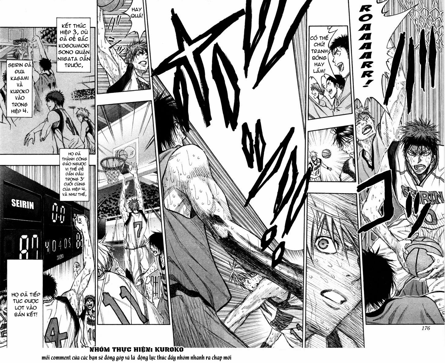 Kuroko No Basket chap 144 trang 6