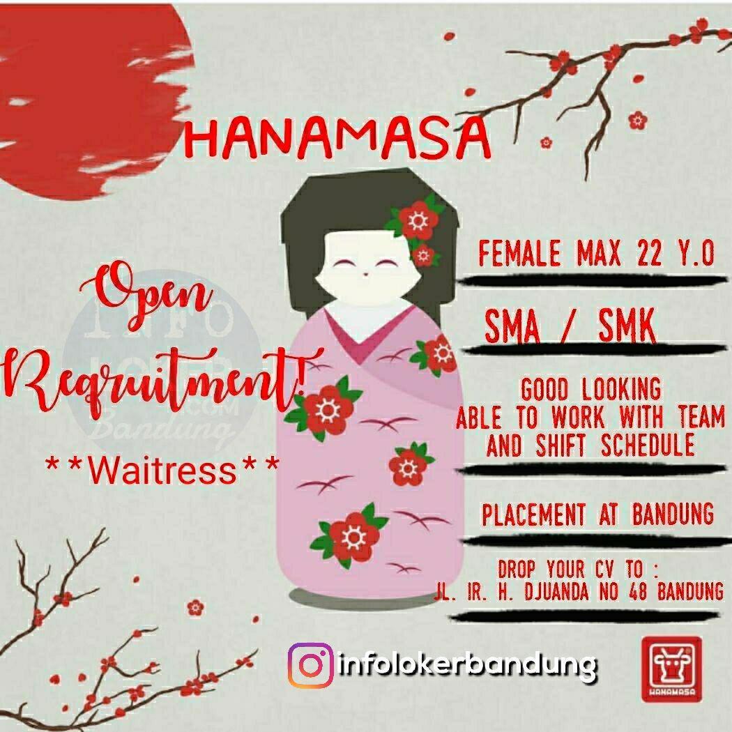 Lowongan Kerja Hanamasa Bandung April 2018