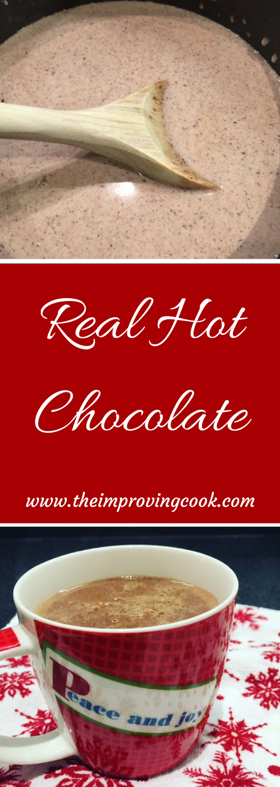 Real Hot Chocolate pinnable image
