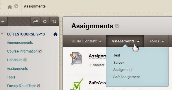 Safe assignment online
