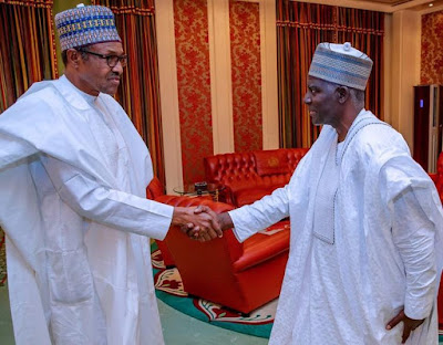 Buhari Meets New DSS Boss, Controversy Over Appointment