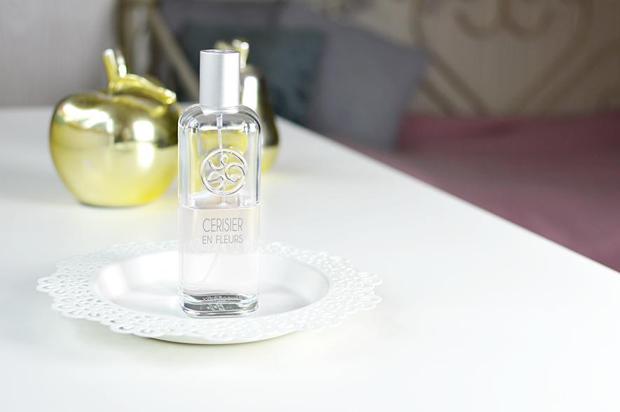 moje ulubione perfumy, yves rocher kwiaty wiśni