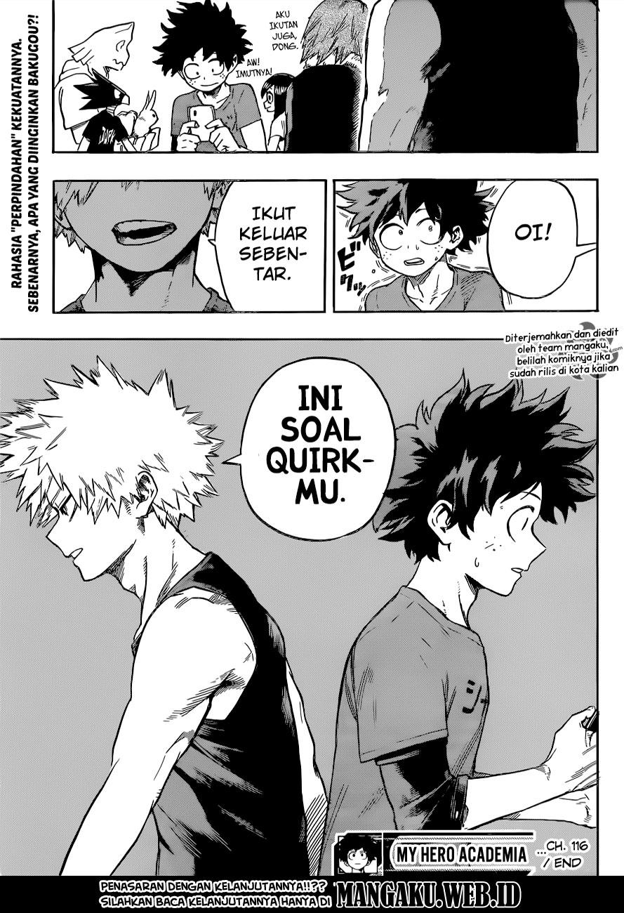 Boku no Hero Academia Chapter 116-18
