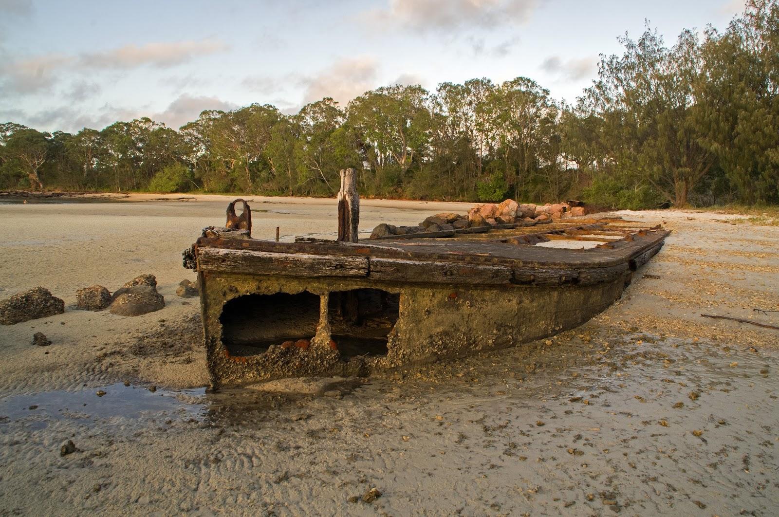 Dunwich Shipwrecks Stradbroke Island