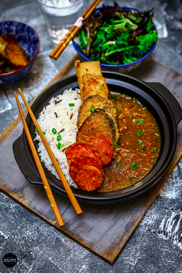 Vegan Katsu Curry is originate from Japan and easy to make.