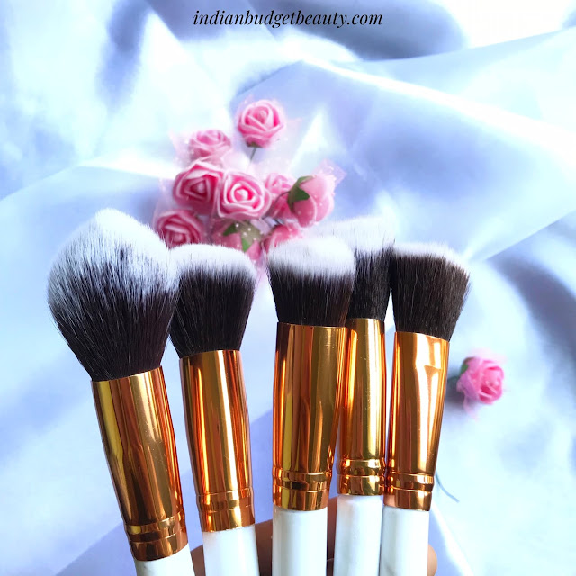 Marble makeup brushes beautybigbang