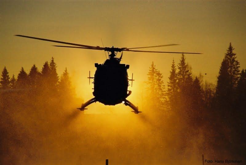 landningsplats för helikopter