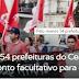 Pelo menos 54 prefeituras do Ceará decretam ponto facultativo para greve geral