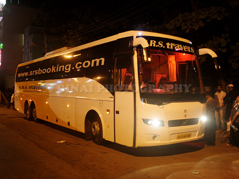 Srs Travels Bangalore To Ernakulam By Volvo B9r
