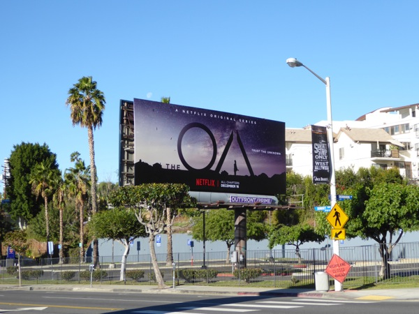 The OA TV series billboard