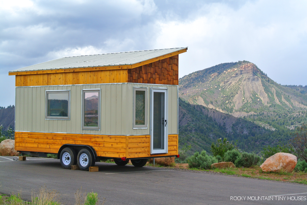 Tiny House Town Front Range Tiny House 122 Sq Ft