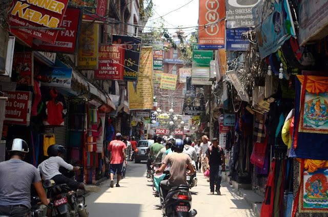 Thamel, The Tourist Hub in Kathmandu