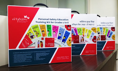 Personal Safety Education Training Kit in English, Hindi and Marathi