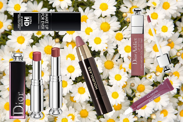 Makeup Favorites - Lips; Dior, Hourglass, Clarins, Make Up Forever