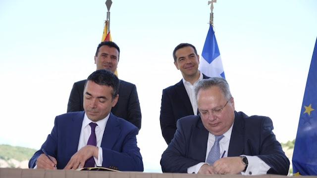 Μακεδονικό: «Καίει» τον ΣΥΡΙΖΑ και τον Κοτζιά η συμφωνία των Πρεσπών