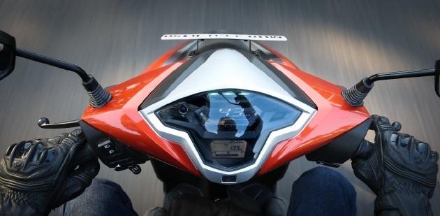 Tampilan dashbord Honda Grazia