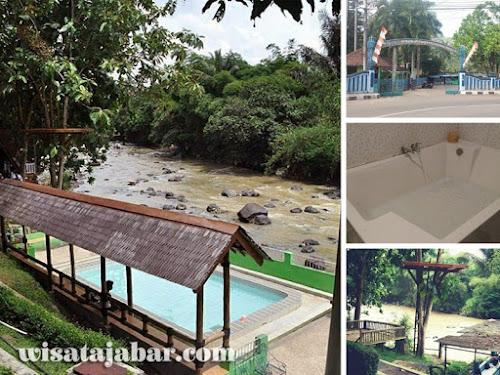 Pemandian air panas Cikundul Sukabumi