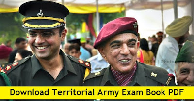 Download Free Territorial Army Exam Book PDF
