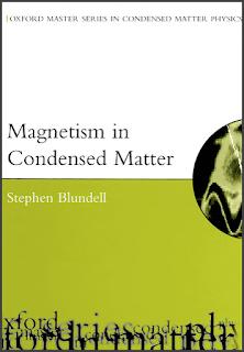 Livre: Le magnétisme dans la matière condensée, Oxford Master en physique - Stephen Blundell