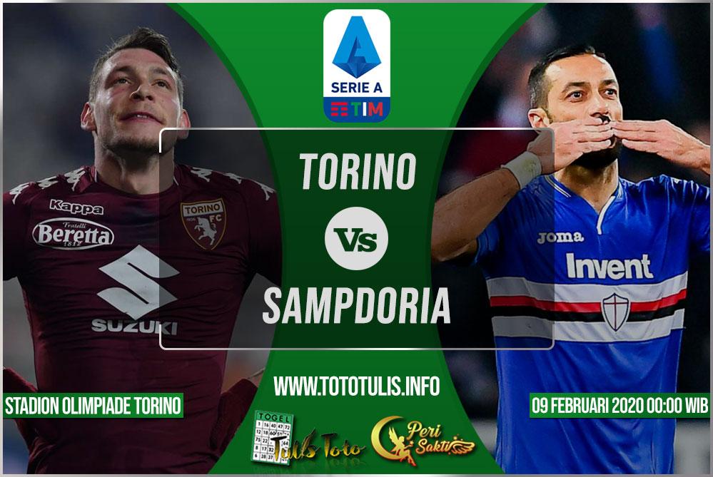 Prediksi Torino vs Sampdoria 09 Februari 2020