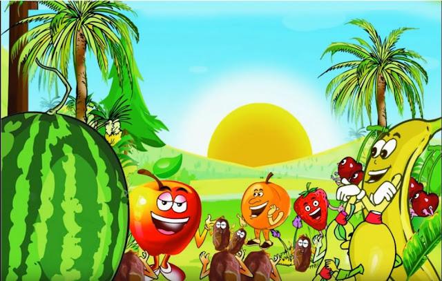 حكاية ملك الفواكه و الخضار